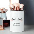 Eyelashes Ceramic Storage Pot